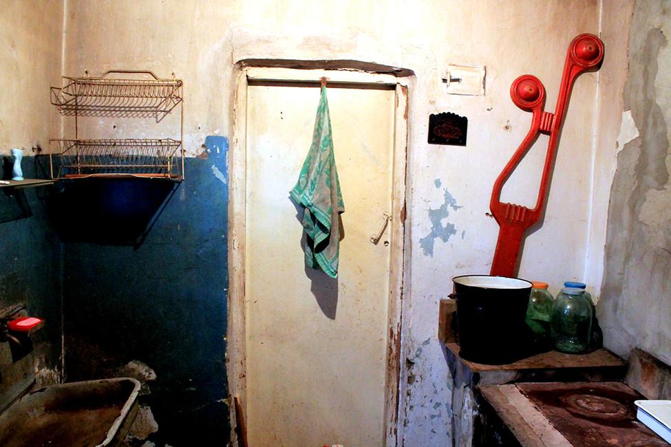 Кухня бывшего лазарета. Фото: Лариса Бахмацкая
