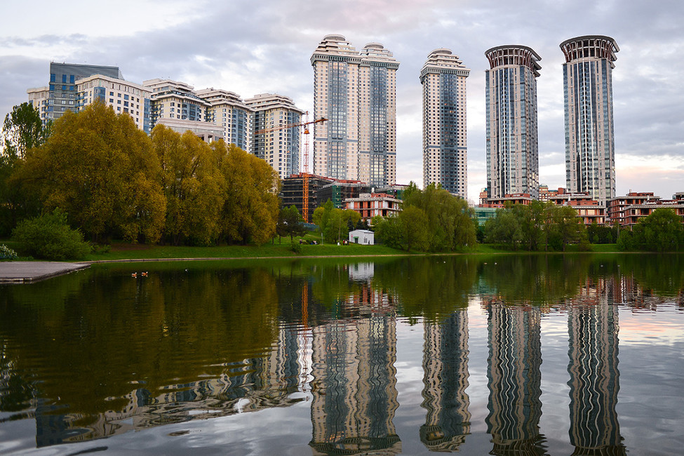 ЖК«Воробьевы горы». Фото: Виктория Вотоновская/ ТАСС