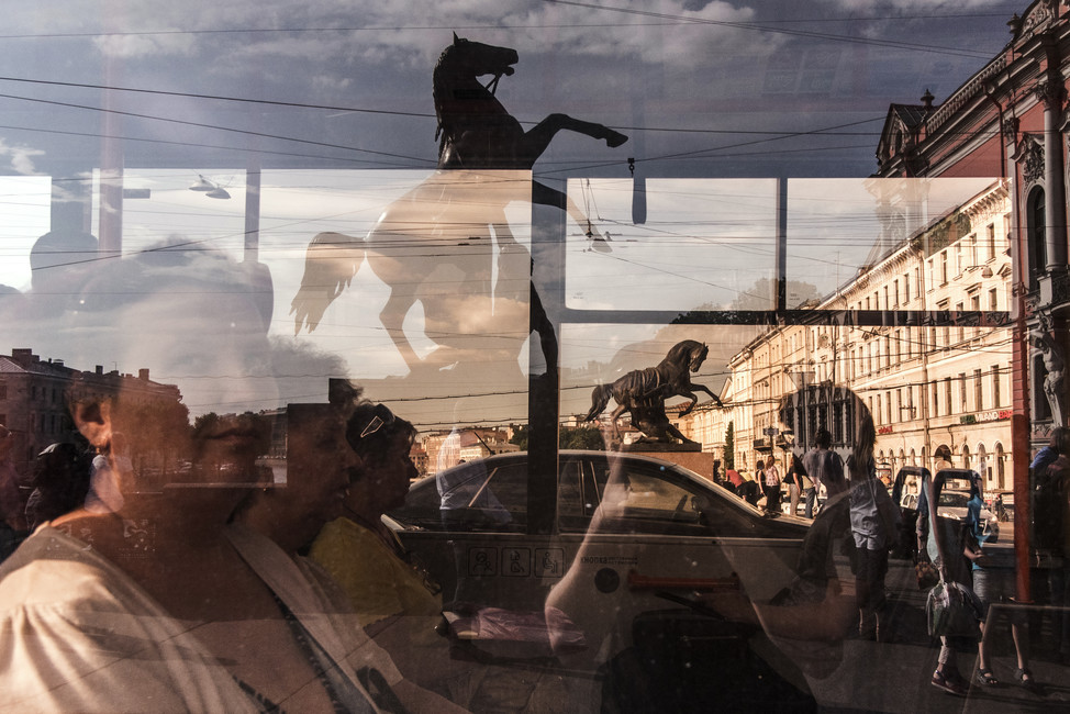 Повседневная жизнь Санкт-Петербурга. Фото: Сергей Петров/ ТАСС