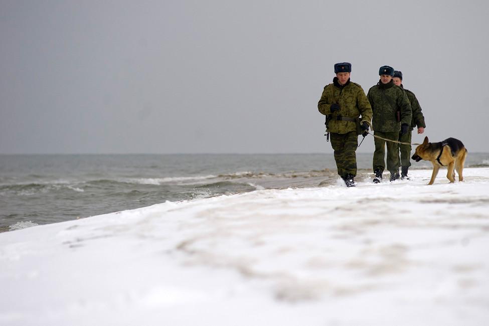 Пограничный пост вКалининградской области. Фото: Елена Нагорных/ ТАСС