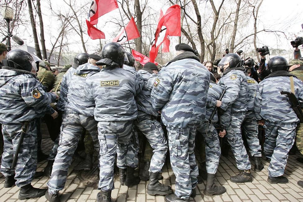 «Марш несогласных», 14апреля 2007года. Фото: Наталья Львова/ ТАСС