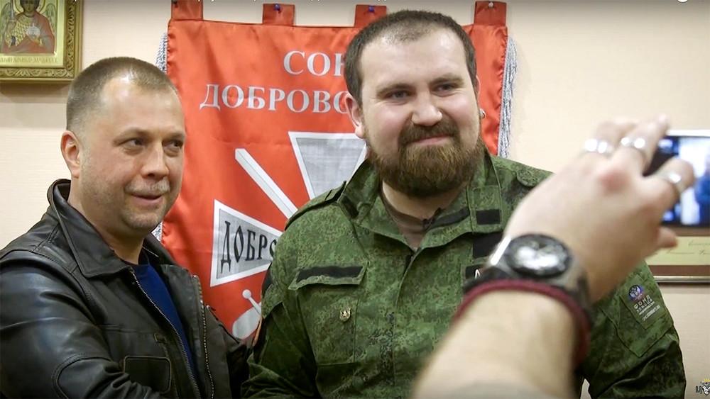 Вот тебе крест: фильм ЦУРа, Расторгуева и«Свободы» обополченце ДНР
