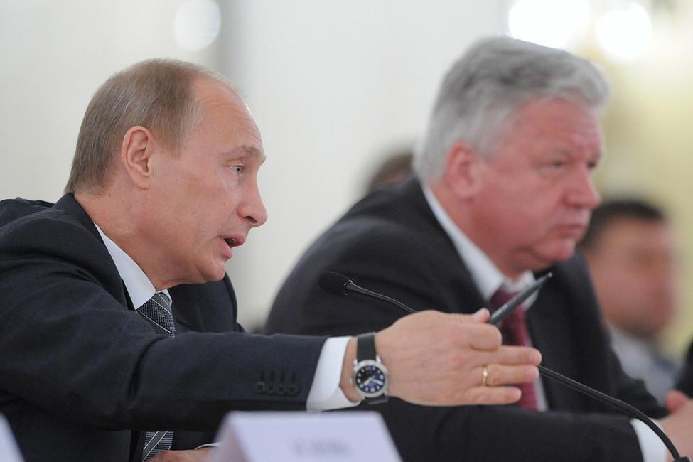 Владимир Путин, 2009год. Фото: Григорий Сысоев/ ТАСС