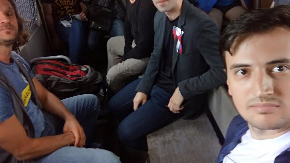 ВМоскве задержали председателя движения «Открытой России» Александра Соловьева
