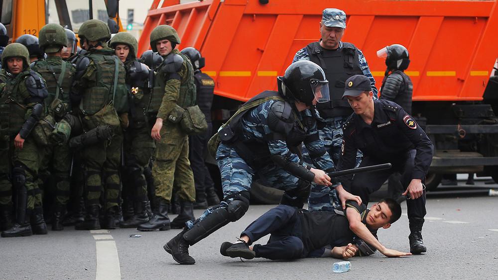 Москва, 12июня: проспект Сахарова иТверская. Трансляция Открытой России