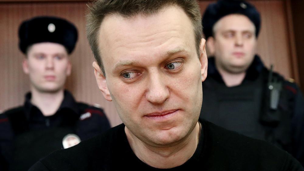 Навального арестовали на30суток