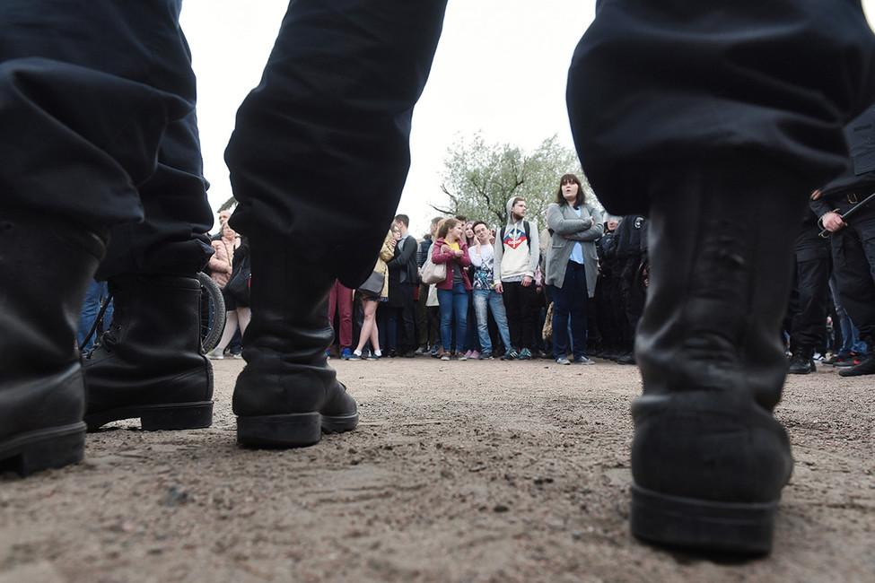 ВСанкт-Петербурге после митинга 12июня возбуждено уголовное дело