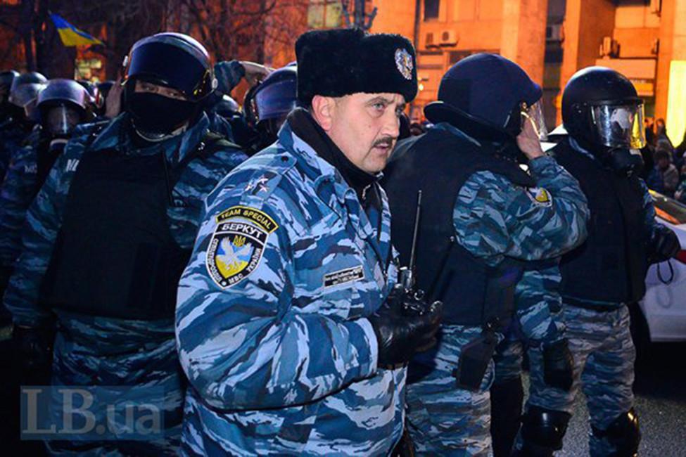 Сергей Кусюк наМайдане вноябре 2013года. Фото: Макс Требухов/ lb.ua