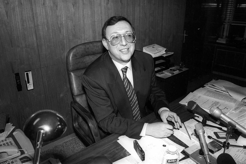 Владимир Гусинский, 1994год. Фото: Сергей Николаев/ Коммерсантъ