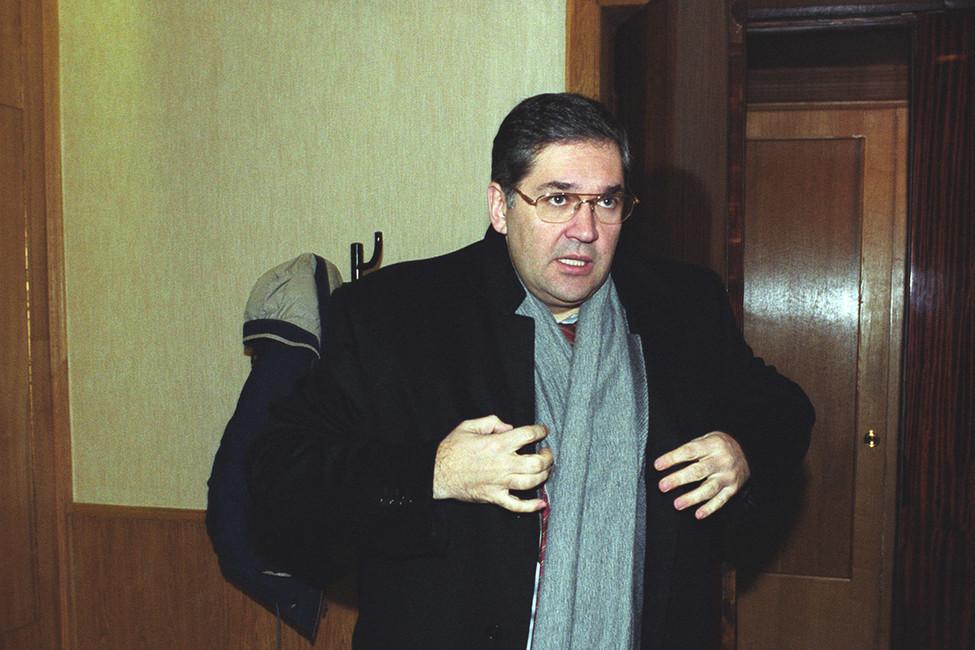 Олег Добродеев, 2000-е гг. Фото: Коммерсантъ