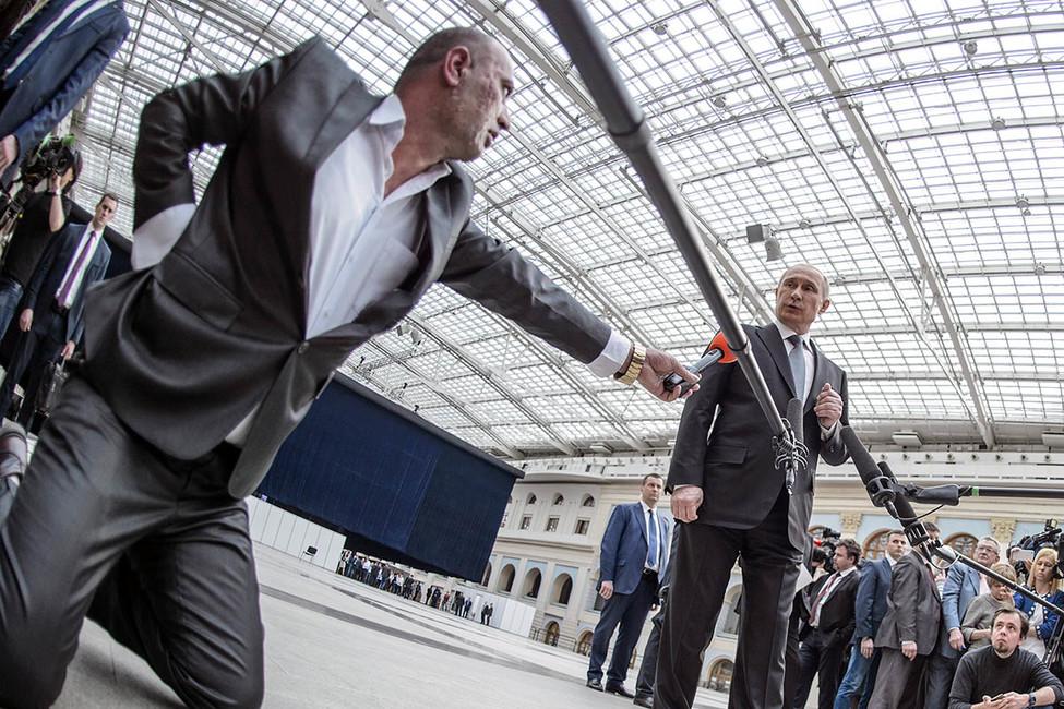 «Прямая линия» сВладимиром Путиным. Реакция. Онлайн