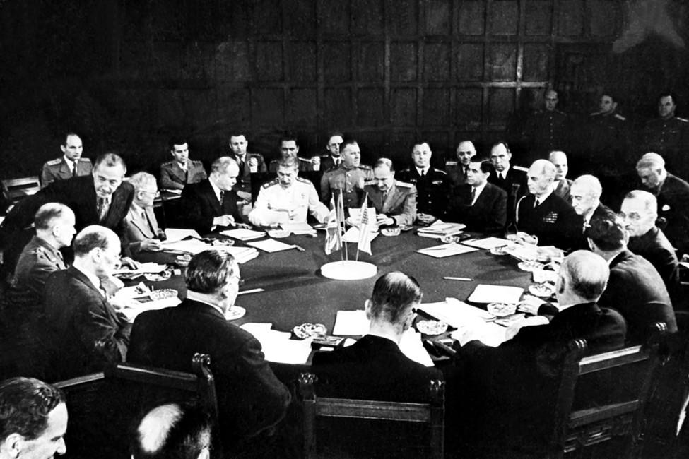 Потсдамская конференция, 1945год. Фотохроника ТАСС