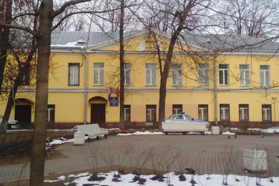 28-е отделение полиции вСанкт-Петербурге. Фото: Олег Есаулов