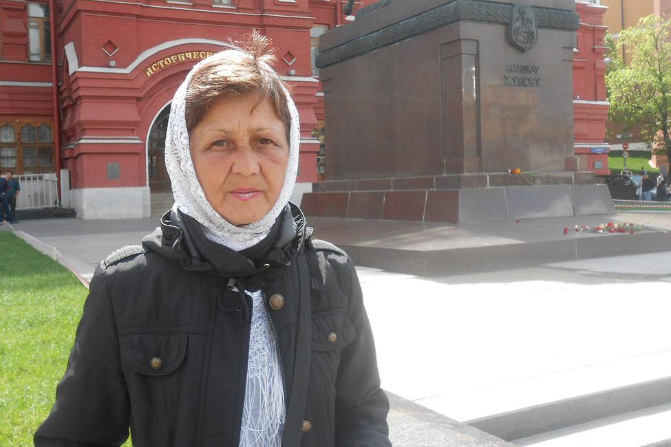 Одиночный пикет Веры Шиховой наМанежной площади. Фото: evworkparty/ Вконтакте