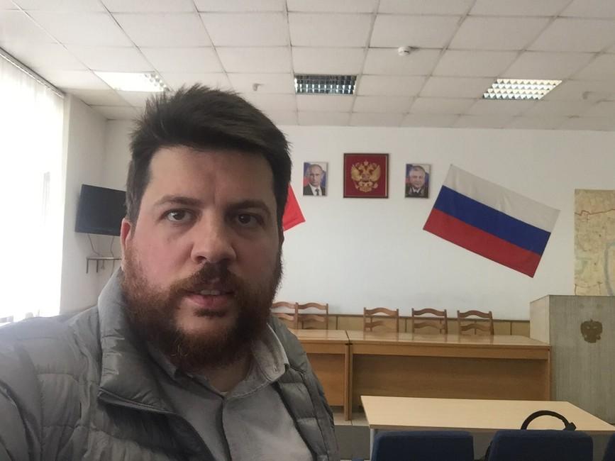 Леонида Волкова арестовали напять суток