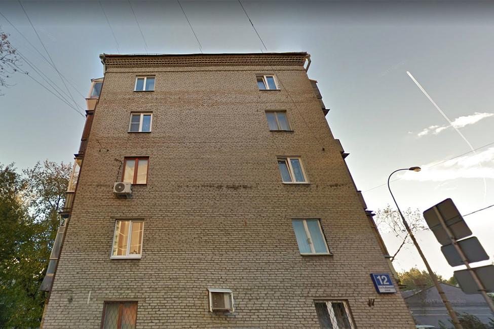 Район Сокольники, 3-я Рыбинская улица, дом12, год постройки 1964