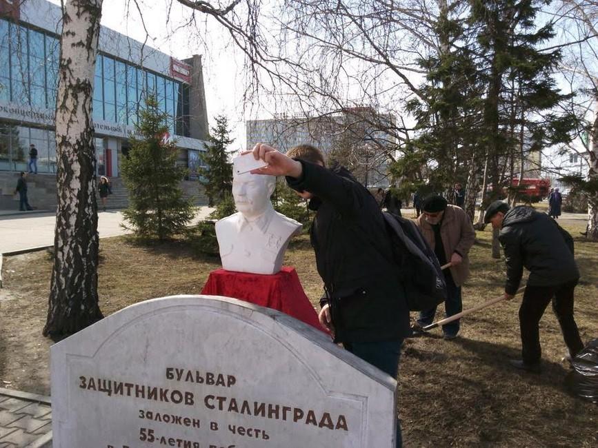 ВБарнауле партия КПРФ попросила выделить место для памятника Сталину