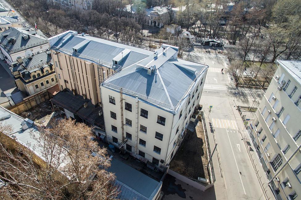 Здание Таганской телефонной станции (АТС). Фото: Сергей Бобылев/ ТАСС