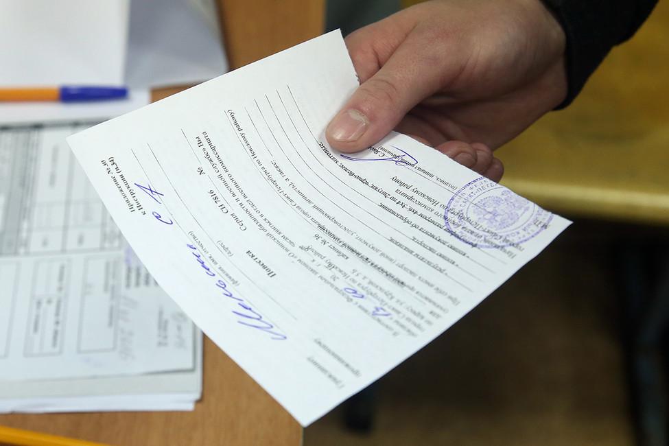 ПВвоенном комиссариате. Фото: Светлана Холявчук/ Интерпресс/ ТАСС
