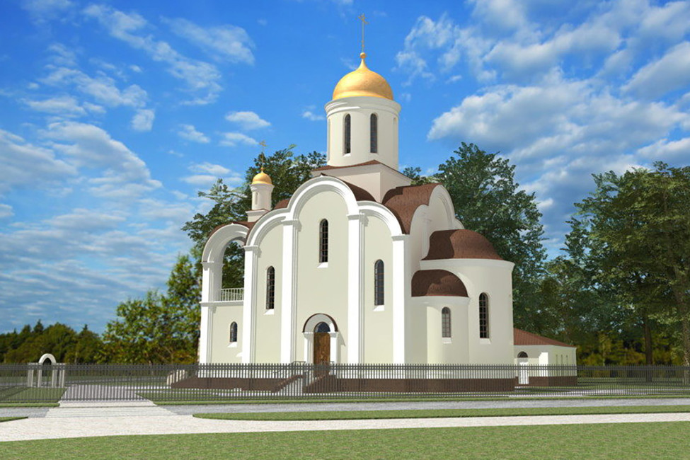 Проект храма. Источник: hram-smol.pravorg.ru