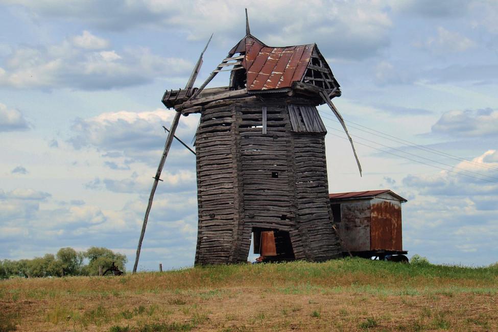 Уникальный объект: вВоронежской области сделали туалет изстаринной мельницы