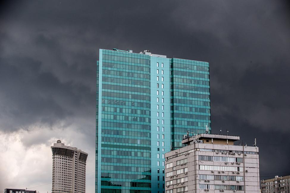 Сильнейший ливень вМоскве с1923года. Онлайн