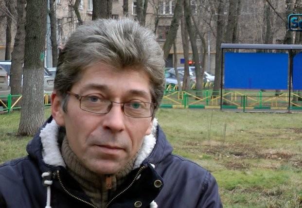 Журналист-оппозиционер Алесандр Сотник.