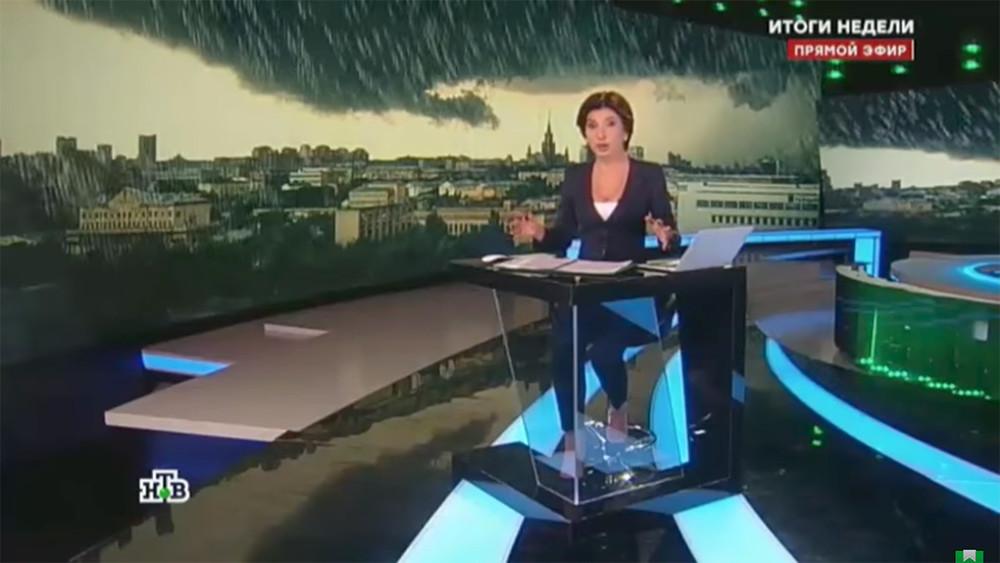 Вураганном темпе Зейналовой. Что обсуждали в«Итогах недели» наНТВ
