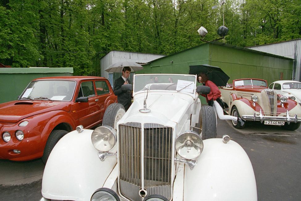 Packard, накотором ездил Иосиф Сталин. Фото: РоманДенисов /Фотохроника ТАСС