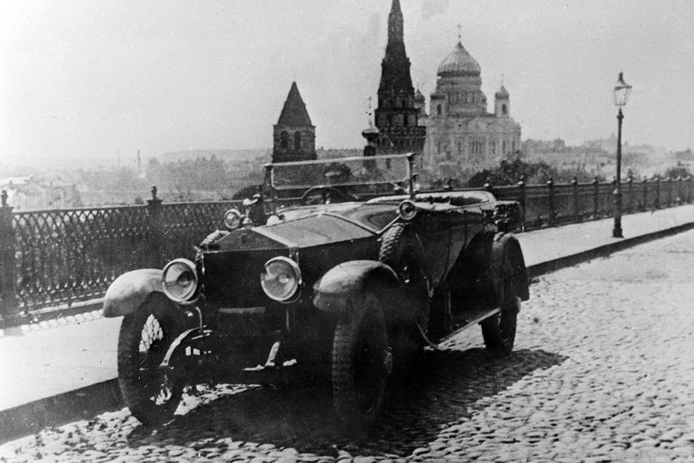 Rolls Royce, которым пользовался Владимир Ленин. Фото: Р.Мухаметдинов /Фотохроника ТАСС