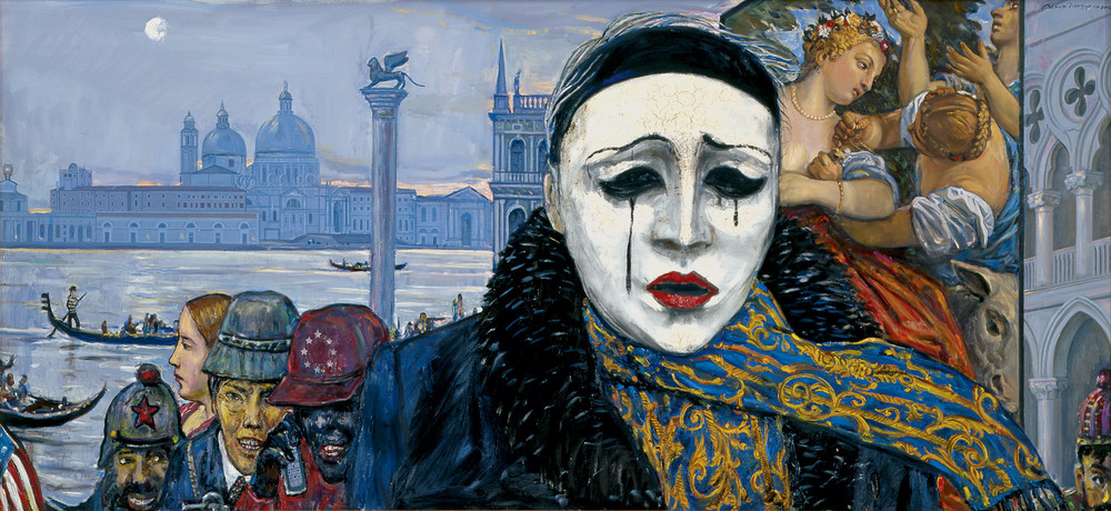 Закат Европы, 1994год. Художник: Илья Глазунов