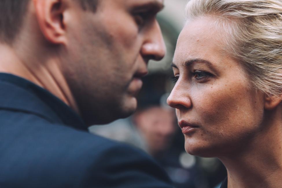Политик Алексей Навальный иего жена Юлия Навальная