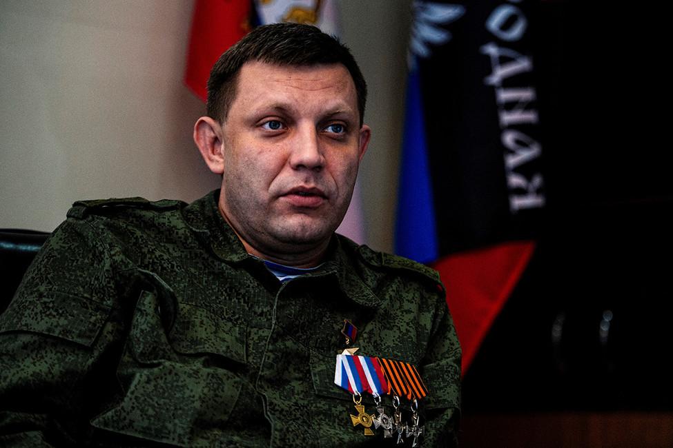 Глава ДНР Александр Захарченко. Фото: Dimitar Dilkoff/ AFP