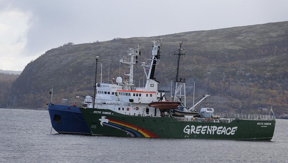 Штурм ледокола Arctic Sunrise обойдется России в€5,4 млн
