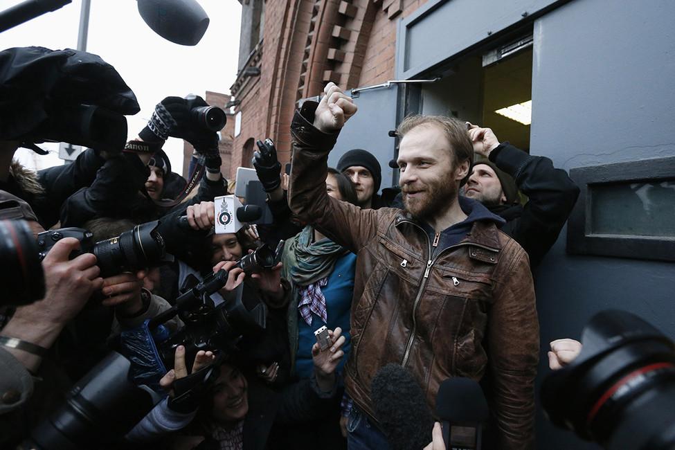 Денис Синяков, 2013год. Фото: Alexander Demianchuk/ Reuters