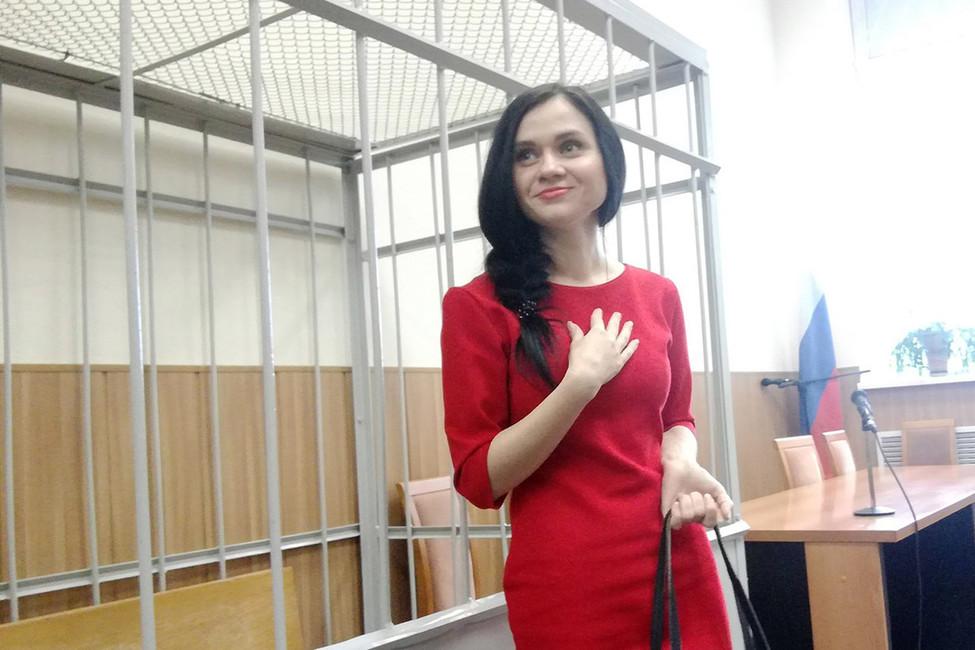 Как поправить фигуру визоляторе. Активистку изВладимира осудили засравнение Путина сГитлером