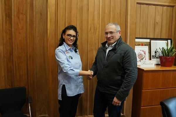 Дочь друга Путина стала членом движения «Открытая Россия»