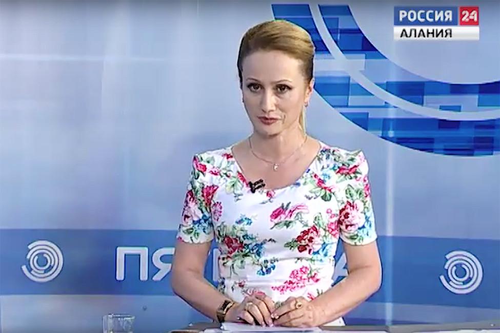 Фатима Сабанова. Кадр: ГТРК «Алания»