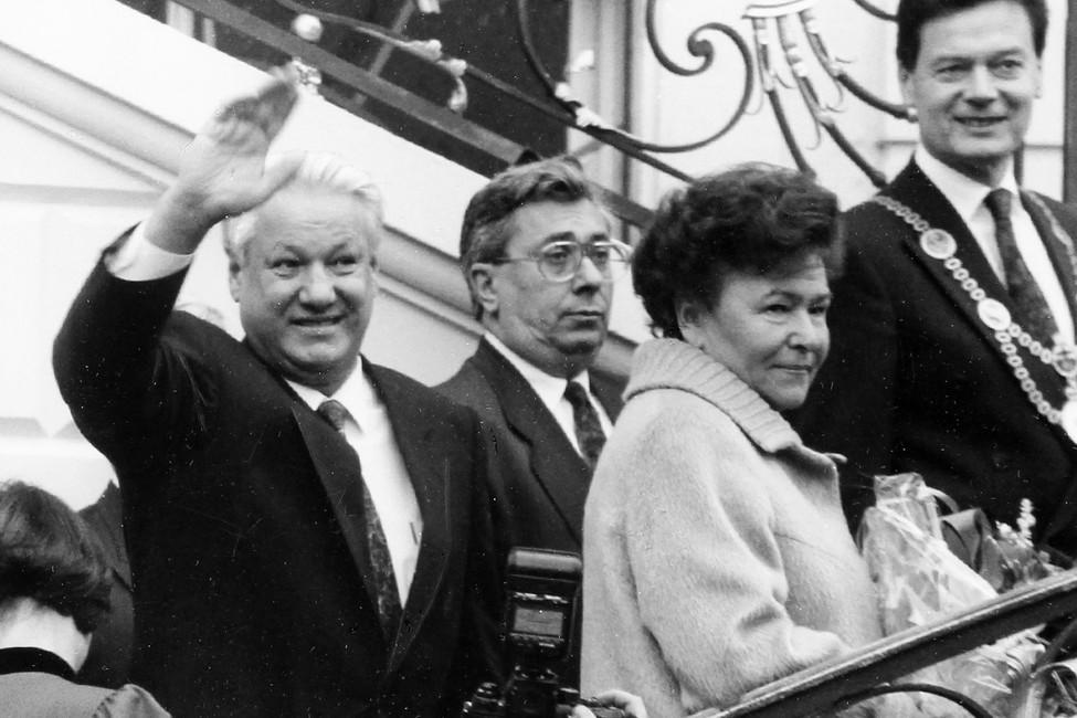<p>&laquo;Вместе с&nbsp;Борисом&raquo;. Открытая Россия публикует фрагмент мемуаров Наины Ельциной</p>