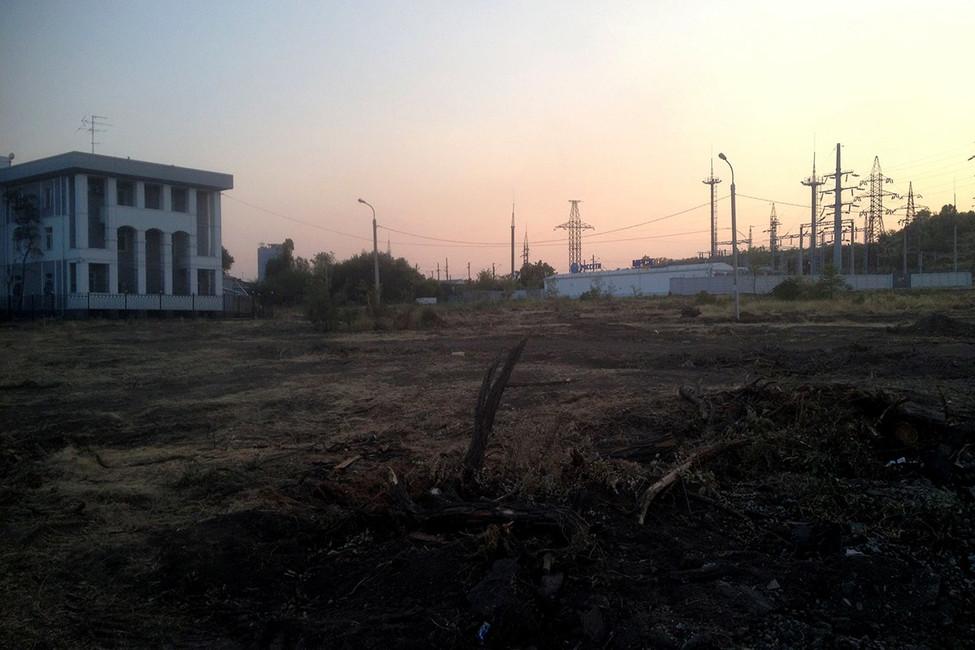 Парк вдов ветеранов ВОВ вырубили ради болельщиков ЧМ-2018