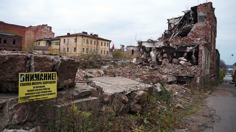 Власти Ленобласти снесут исторический квартал Выборга, который сами довели досостояния руин