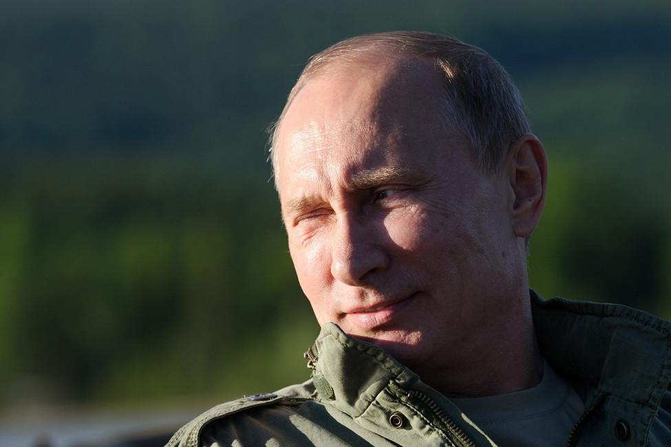 Путин прибыл вХакасию, чтобы отдохнуть отлюдей