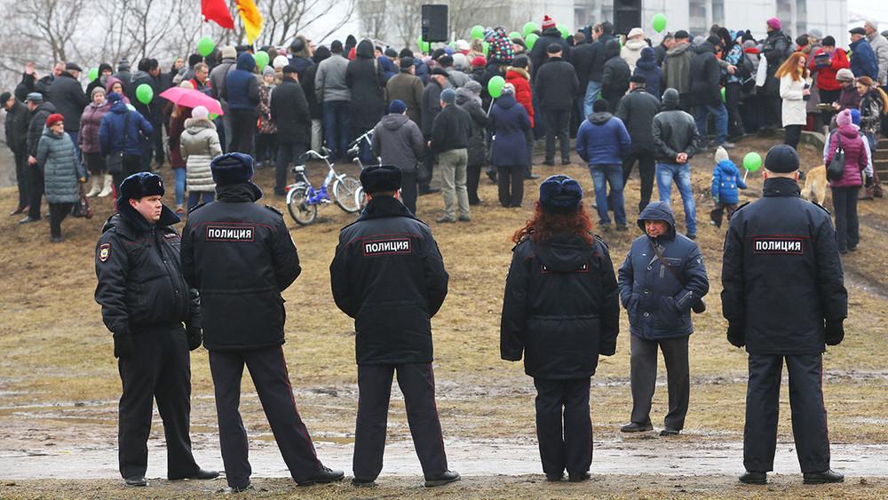 Протесты врегионах: реакция власти иучастие общества