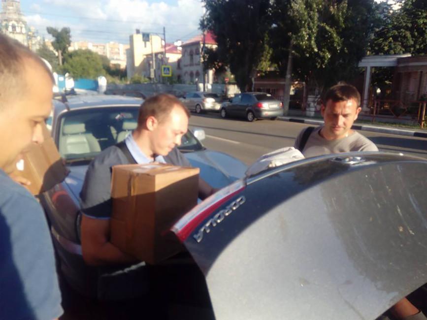Полиция пришла собыском вштаб Алексея Навального вСамаре