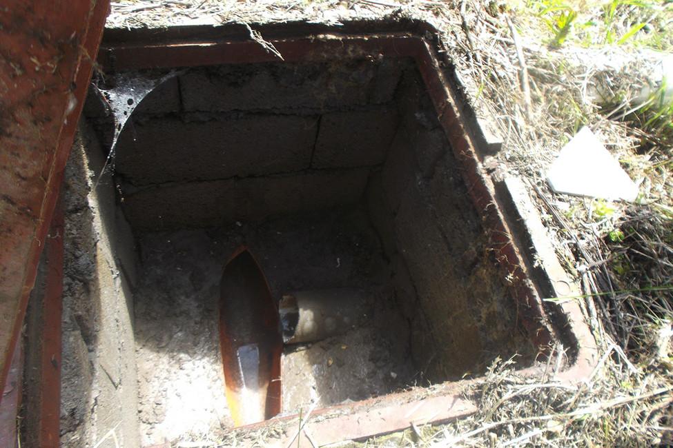Выгребная яма. Фото: Лариса Бахмацкая