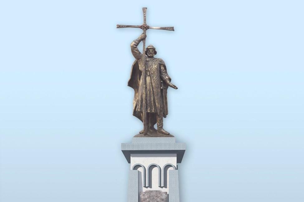 Эскиз памятника князю Владимиру вКалининграде. Фото: Александр Катеруша