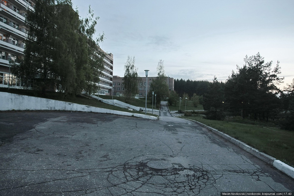 Натерритории санатория «Сосновый бор». Фото: novikovski.livejournal.com