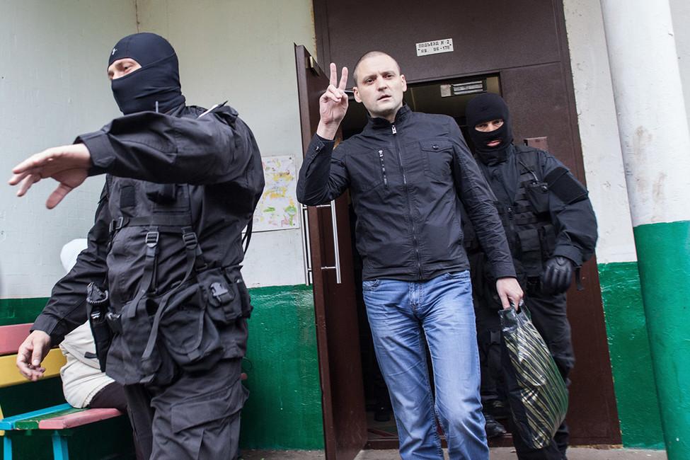 Сергей Удальцов, октябрь 2012года. Фото: Павел Птицын/ ТАСС