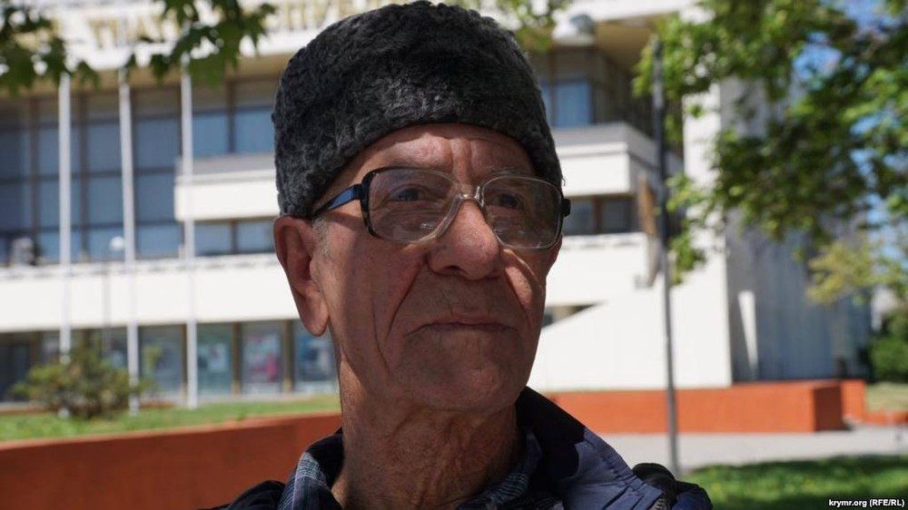 ВКрыму пожилого активиста сболезнью Паркинсона обвинили всопротивлении полицейским
