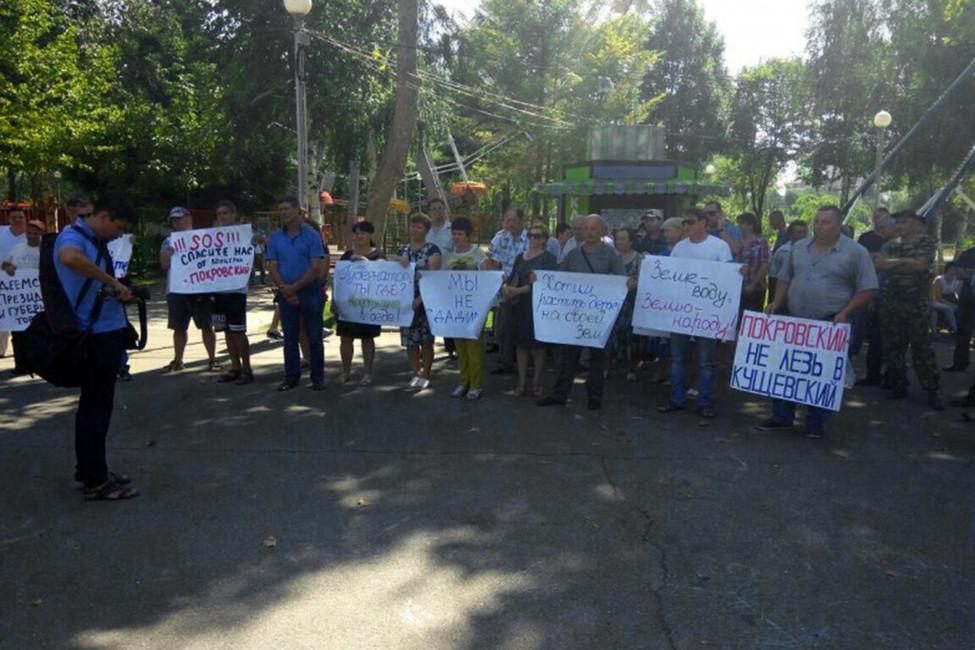 Кубанские фермеры: «Рейдеры оставили наших детей без хлеба иземли»